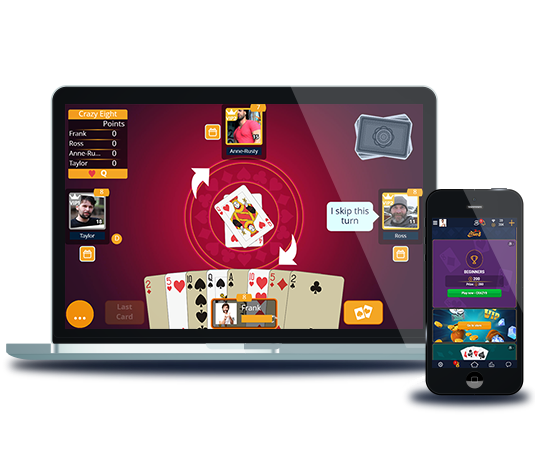 Free Crazy Eights Online