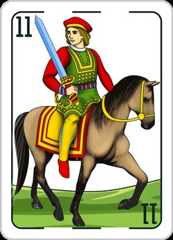 Caballo spanish card
