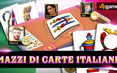 Mazzi di carte italiane