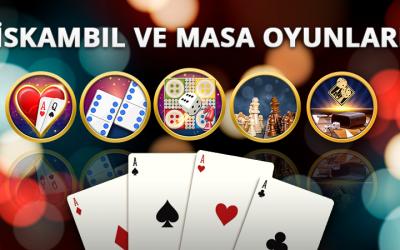 En güzel, en popüler kart ve masa oyunları