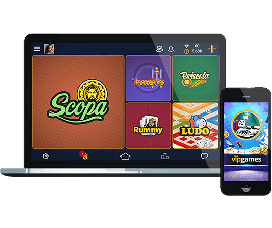 Scopa Jeu En Ligne Sur Differents Dispositif