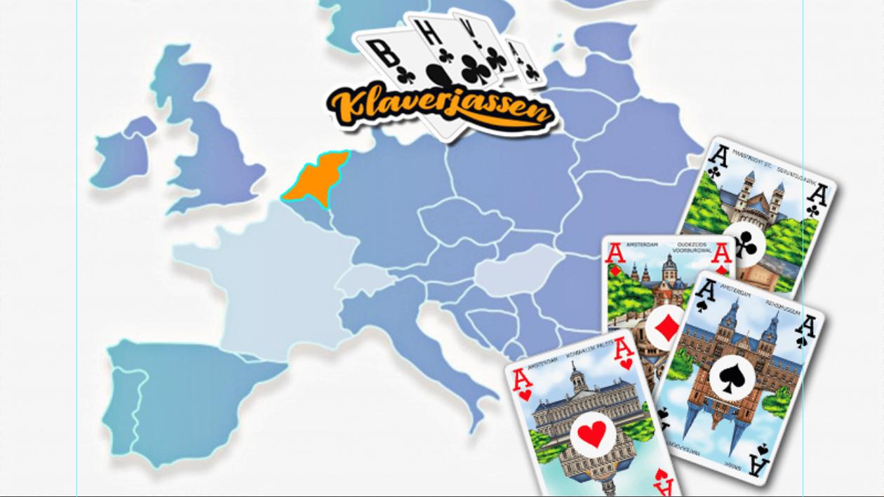 Klaverjassen, het populairste kaartspel van Nederland