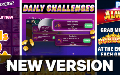 The NEW version of VIP Games brings exciting new functionalities